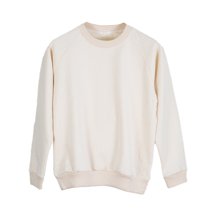 Cotton Merino Crew Kinari