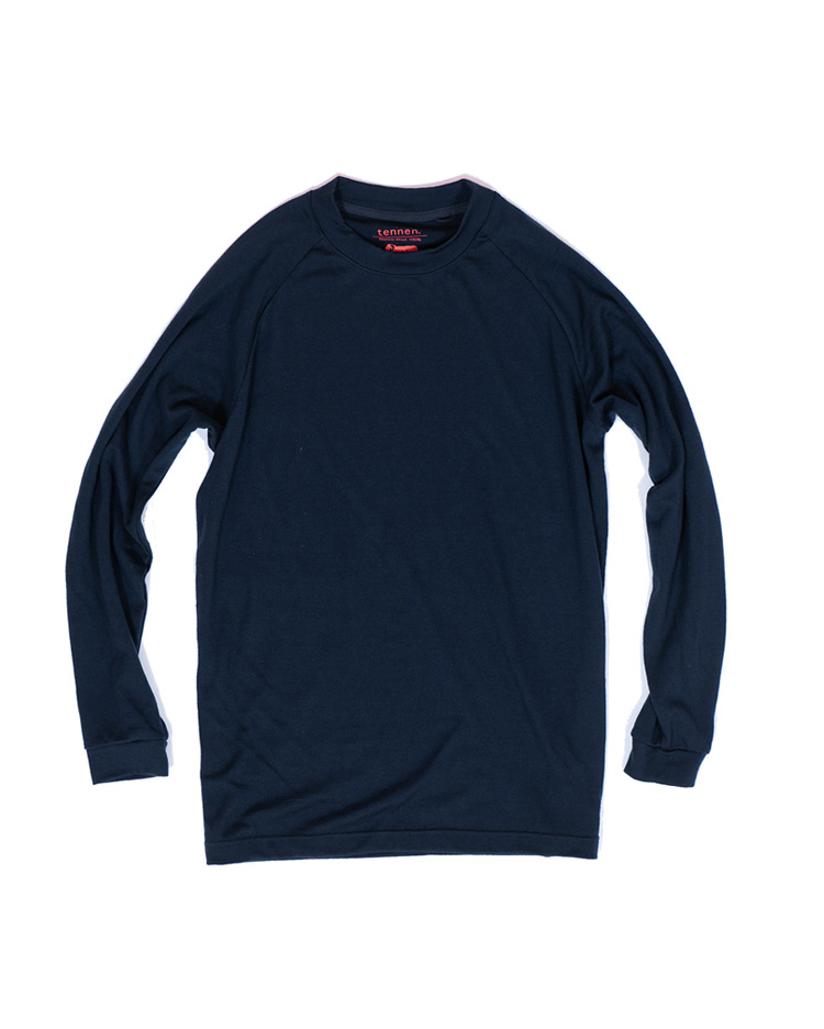 Everyday Wool Tee LS